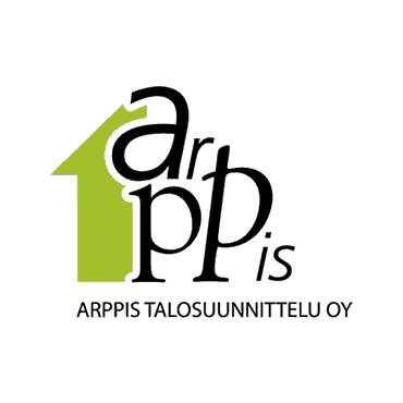 Arppikselle suunniteltiin graafisesti leikkisä logo