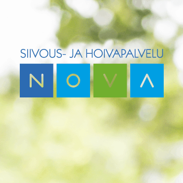 Novalle suunniteltiin Mainostoimisto Hurraassa yhden sivun verkkosivut.