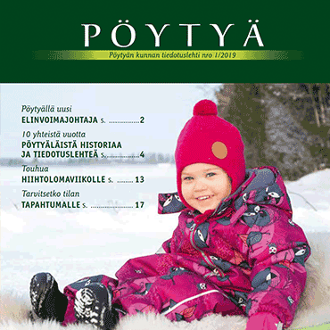 Pöytyän kunnan tiedotuslehti nro 01/2019