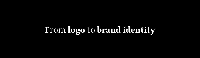 Logon sijaan kokonainen brändi-identiteetti ja brändikäsikirja