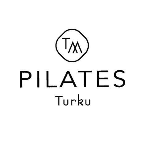 Hurraan suunnittelema Pilates Turku -logo