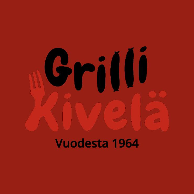 Mainostoimisto Hurraan suunnittelema Grilli Kivelän logo